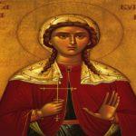 Αγία Κυριακή: Η προσευχή της πριν το τελικό της μαρτύριο
