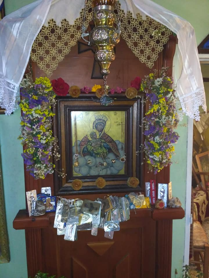 Συγχρόνως, με την πανηγυρη της θαυματουργης εικόνας της Παναγίας της Μεταλλειορυχιτισσας, πραγματοποιήθηκε για δεύτερη συνεχόμενη χρονιά ευχαριστηρια λειτουργία για την διάσωση μου μετά από την πτώση του ελικοπτέρου στις 19 Απριλίου 2017 από την θαυματουργη εικόνα της Παναγίας μας της Ακρωτηριανης Θεραπευτριας Σερφιωτισσας η οποία εορταζει στις 13 Φεβρουαρίου (Ν. Η) Και 31 Ιανουαρίου (Π. Η)