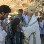 Θυρανοίξια Παρεκκλησίου στη Μύκονο από τον Σύρου Δωρόθεο