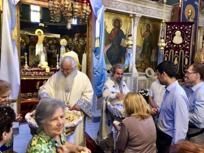 Εορτή Αγίων Αναργύρων Κοσμά και Δαμιανού στα Οινόφυτα