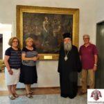Μητρόπολη Σπάρτης: Δωρεά πίνακα 18ου αιώνα από την κα Βασιλική Παπασωτηρίου – Μπεχράκη