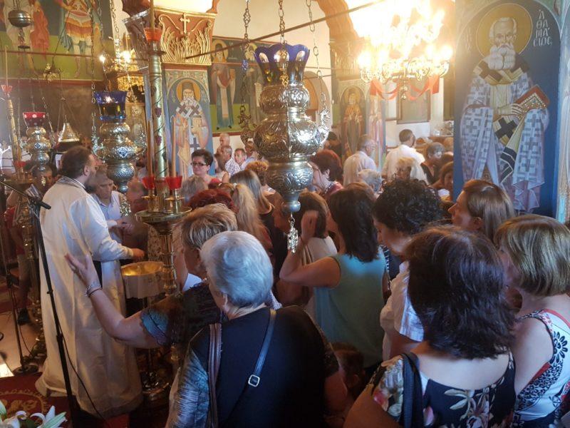 Η εορτή της Αγίας Μεγαλομάρτυρος Κυριακής στην Ιερά Μητρόπολη Τρίκκης