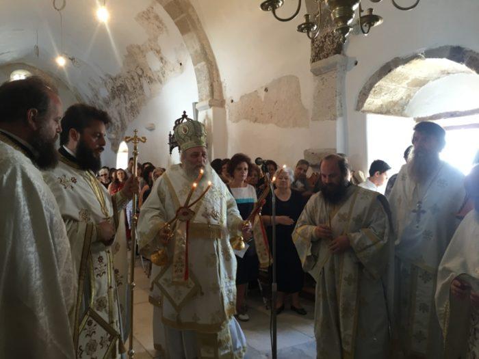 Νάξος: Με λαμπρότητα τιμήθηκε η μνήμη της Αγίας Κυριακής