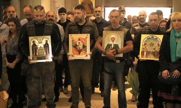 Πατριαρχική Θεία Λειτουργία στο Μετόχι της Ρωσικής Εκκλησίας στο Βελιγράδι