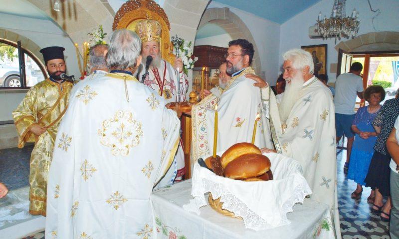 Πανηγυρικός εορτασμός της Αγίας Μαρίνης στα Χανιά