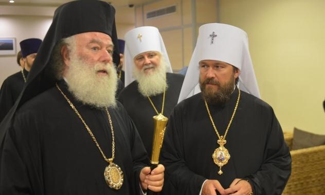Αφίχθη στη Μόσχα ο Πατριάρχης Αλεξανδρείας Θεόδωρος