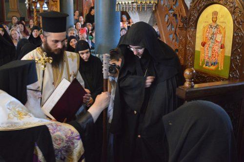Ενθρόνιση Ηγουμένης Πορφυρίας στην Ιερά Μονή Αγίας Τριάδος Εδέσσης