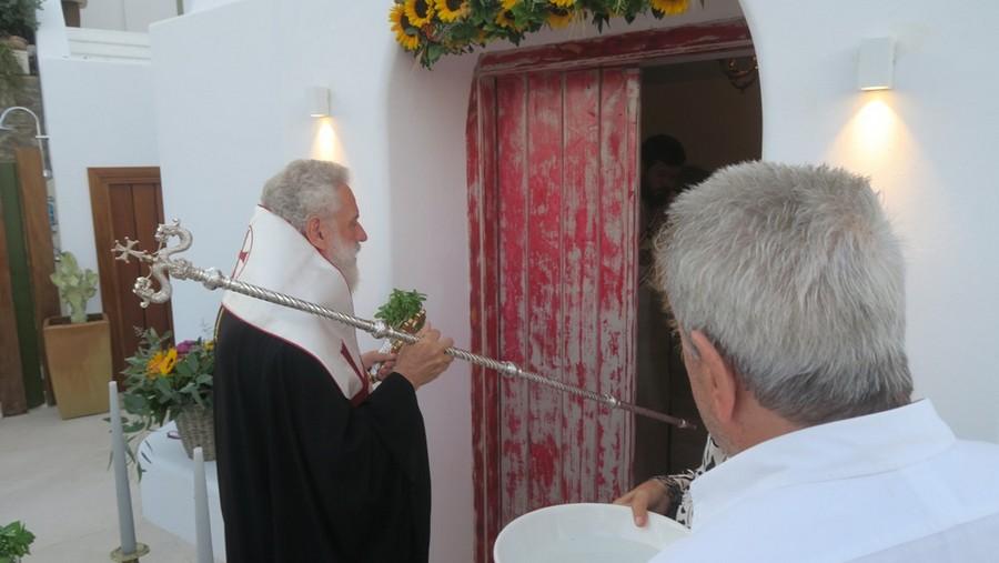 Μύκονος: Θυρανοίξια Παρεκκλησίου του Αγίου Στεφάνου