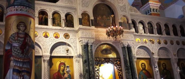 Ιερά αποδημία της Ενορίας του Μητροπολιτικού Ναού Λαμίας σε προσκυνήματα της Εύβοιας