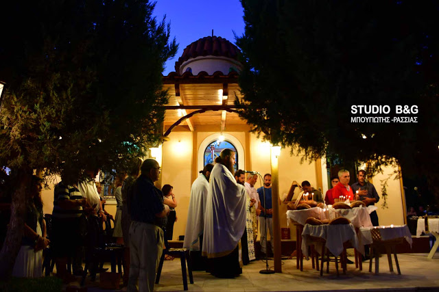 Αγία Ευφημία: Λαμπρή Εορτή στην Νέα Τίρυνθα Ναυπλίου