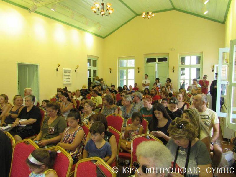 Ο Σύμης Χρυσόστομος στην καλοκαιρινή συναυλία του Δημοτικού Ωδείου