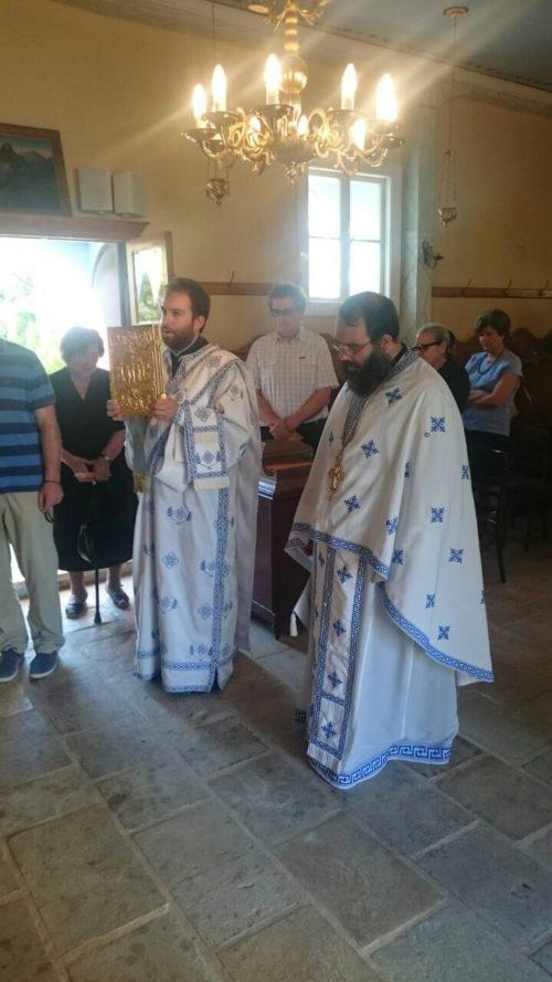 Πανηγυρική Θεία Λειτουργία στον Ιερό Ναό Παναγίας των Βλαχερνών Λευκάδος