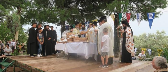 Η Εορτή της Αγίας Οσιοπαρθενομάρτυρος Παρασκευής της Αθληφόρου στην Μητρόπολη Φθιώτιδος