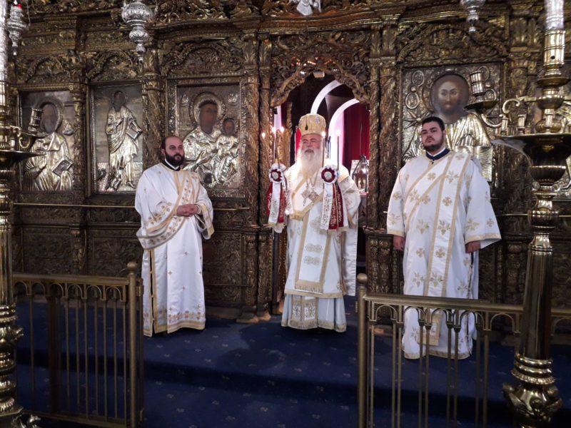 Λευκωσία: Επίσημο Εθνικό Μνημόσυνο Εθνομάρτυρα Κυπριανού στην Παναγία Φανερωμένη