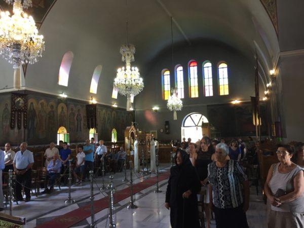 Νάξος: Στον Ναό Αγίου Νικοδήμου Γλυνάδου ο Μητροπολίτης Καλλίνικος