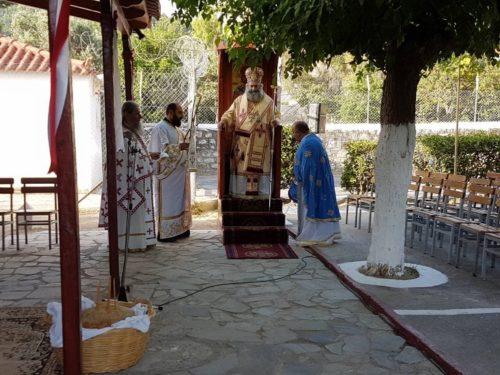 Η εορτή της Αγίας Μαρίνας στην Ιερά Μητρόπολη Μάνης