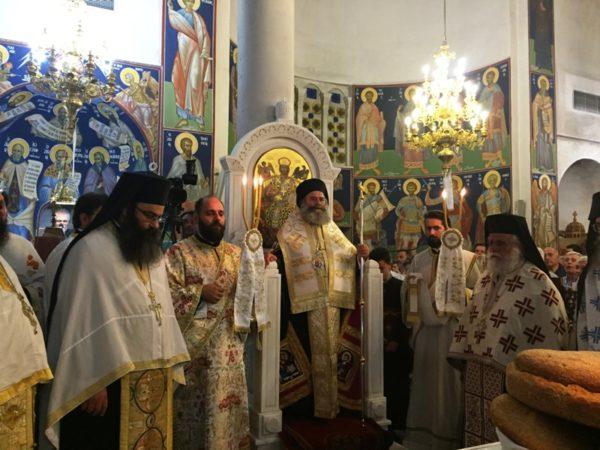 Νάξος: Πανηγυρικά εορτάστηκε και φέτος η μνήμη του Αγίου Νικοδήμου του Αγιορείτου στην γενέτειρά του