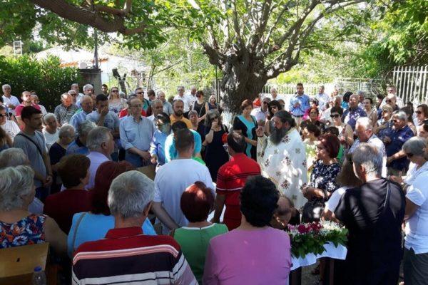 Λαμπρά εορτάσθηκε η μνήμη των Αγίων Αναργύρων στην Αμάρυνθο