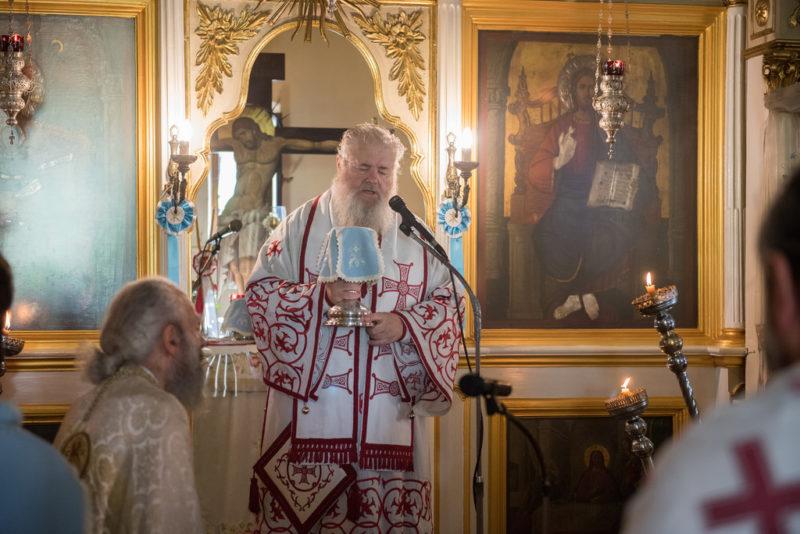 Η μνήμη του Αγίου Μεγαλομάρτυρος Παντελεήμονος στην Μητρόπολη Κυδωνίας