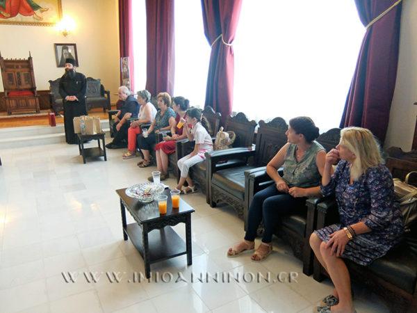 Επίσκεψη χορωδίας στη Μητρόπολη Ιωαννίνων