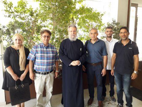 Συνάντηση Εκπαιδευτικών Θεολόγων με τον Αρχιεπίσκοπο Κύπρου