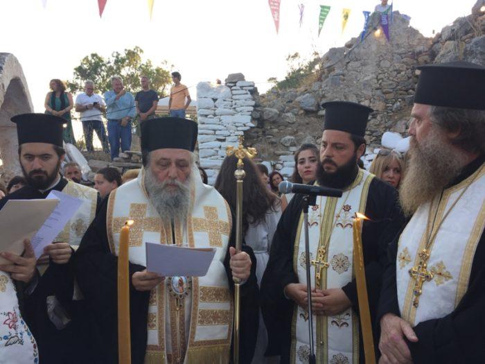 Νάξος: Λαμπρά Θυρανοίξια Βυζαντινού Ναού της Παναγίας της ``Κριτόματης``