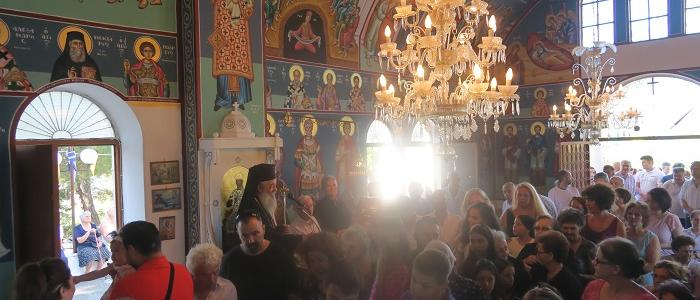 Προφήτης Ηλίας: Λαμπρή Πανήγυρις στο Μητροπολιτικό Παρεκκλήσι στη Λαμία