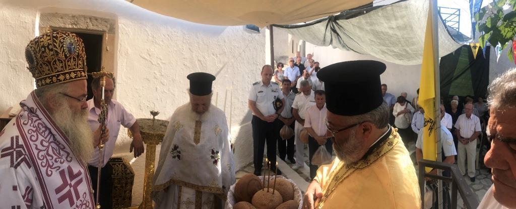 Με Αρχιερατική Θεία Λειτουργία πανηγύρισε ο Ιερός Ναός Αγίας Παρασκευής Ζήρου
