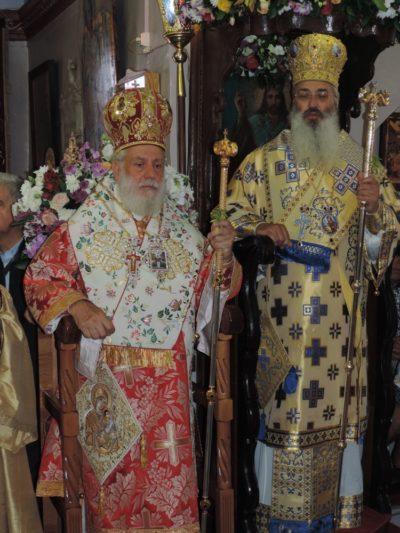 Αγία Κυριακή: Δισαρχιερατική Θεία Λειτουργία σήμερα στη Μύκονο