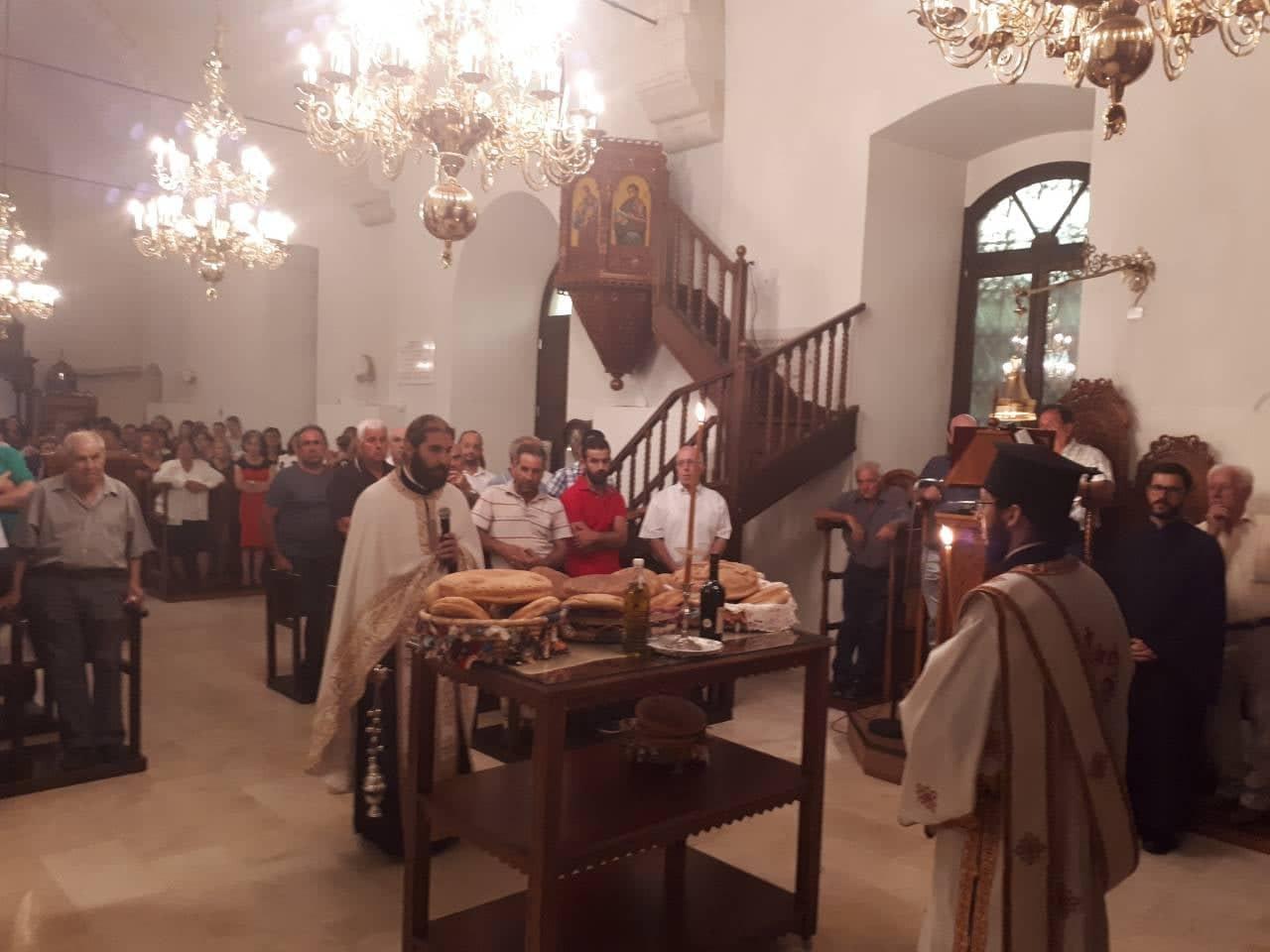 Εορτή Αγίας Μεγαλομάρτυρος Μαρίνης στη Μητρόπολη Λεμεσού