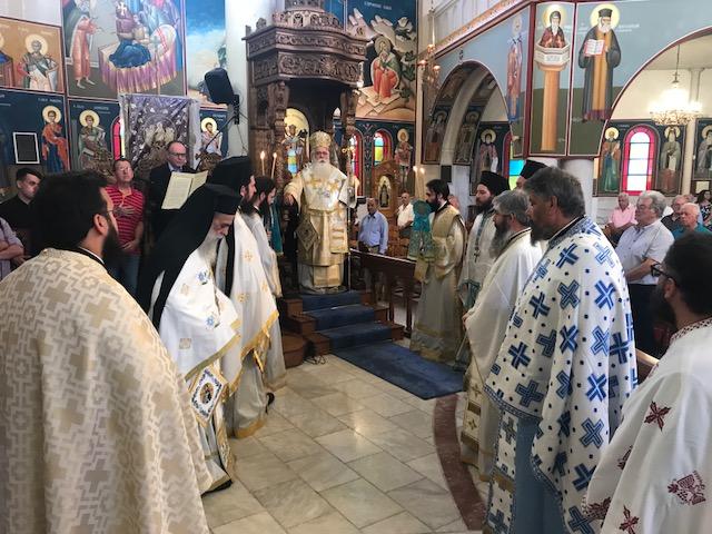 Δημητριάδος Ιγνάτιος: «σήμερα έχουμε ανάγκη από προφητικό λόγο» - Σε Αλυκές και στην Λάρισα για την εορτή του Προφήτου Ηλιού ο Σεβασμιώτατος