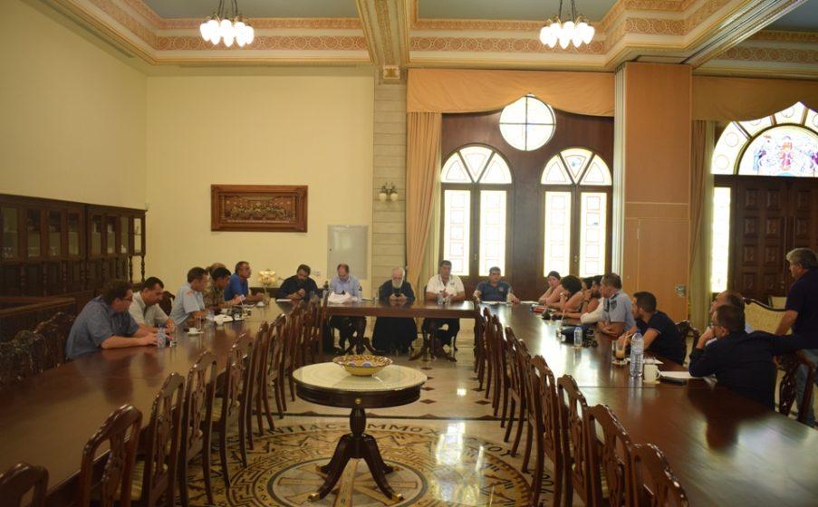 Μητρόπολη Κωνσταντίας: Σύσκεψη για ανθρωπιστική βοήθεια των Πυρόπληκτων αδελφών μας στην Ελλάδα