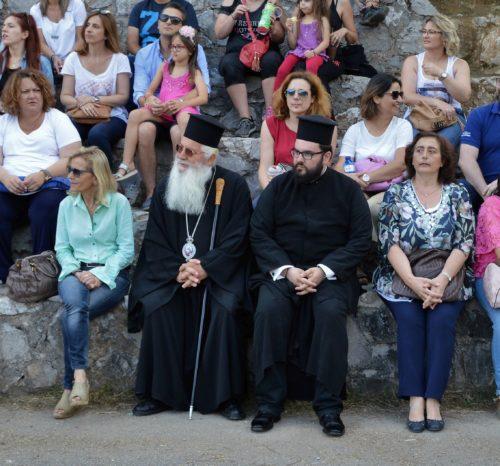 Επίσκεψη Θηβών Γεώργιου στην Κατασκήνωση του Δήμου Λεβαδέων στον Ελικώνα