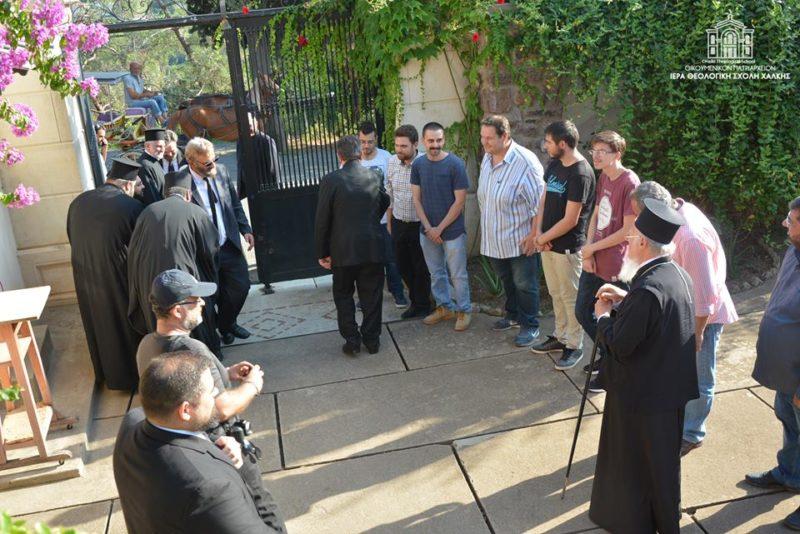 Στη Χάλκη ο Οικουμενικός Πατριάρχης με τον Αρχιεπίσκοπο Φλωρεντίας