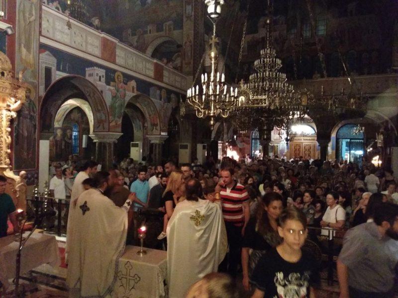 Αγρίνιο: Αγρυπνία για την Πατρίδα Ελλάδα - Συγκλόνισε ο Αιτωλίας Κοσμάς