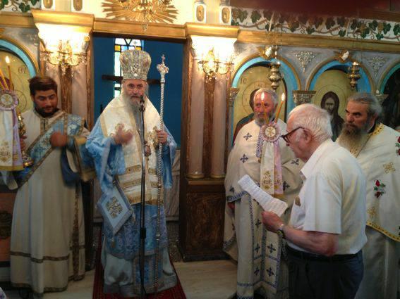 Αγιος Παντελεήμονας: Μέγας Αρχιερατικός Εσπερινός στο Αντίρριο