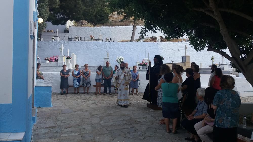 Η Εορτή της Αγίας Μαρίνας στη Μητρόπολη Σύμης