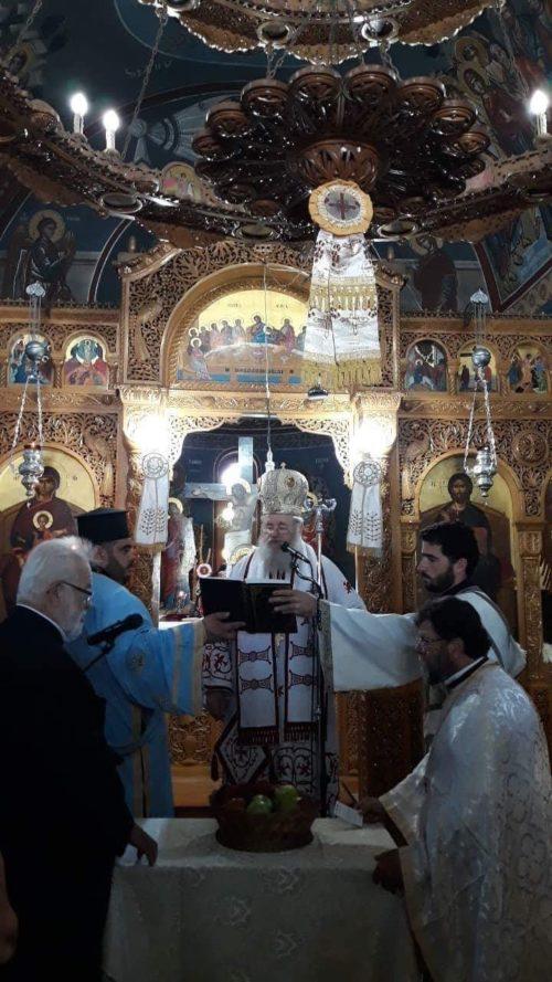 Η εορτή της Οσίας Ειρήνης Χρυσοβαλάντου στα Χανιά
