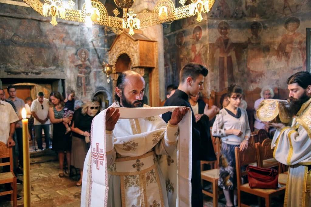 Αγία Ειρήνη Χρυσοβαλάντου: Λαμπρός εορτασμός στην Μονή Αγίου Ιωάννου Προδρόμου Βομβοκούς