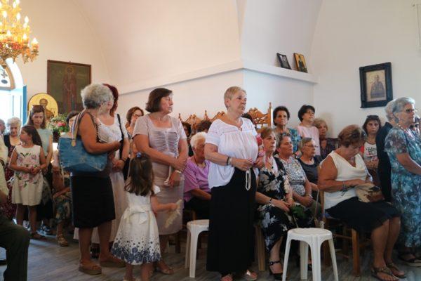 Ο Παροναξίας Καλλίνικος στον Ιερό Ναό Αγίας Μαρίνης Αντιπάρου
