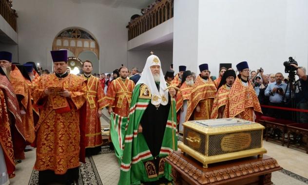 Πρώτη στην ιστορία συνεδρία της Συνόδου υπό την προεδρία του Πατριάρχη Κυρίλλου στο Αικατερινβούργο