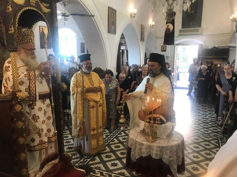 Σητεία: Λαμπρή η πανήγυρη του Ιερού Ενοριακού Ναού Αγίου Παντελεήμονος Χαμαιζίου