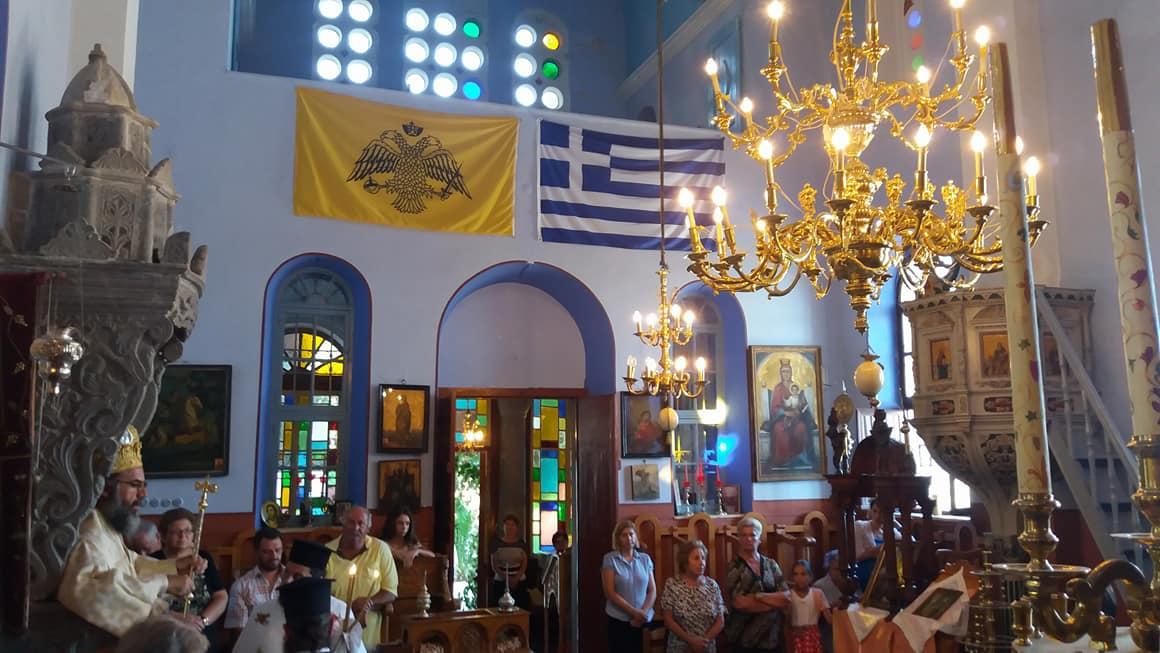 Θεία Λειτουργία του Σύμης Χρυσοστόμου στην Παναγία Ελεημονήτρια