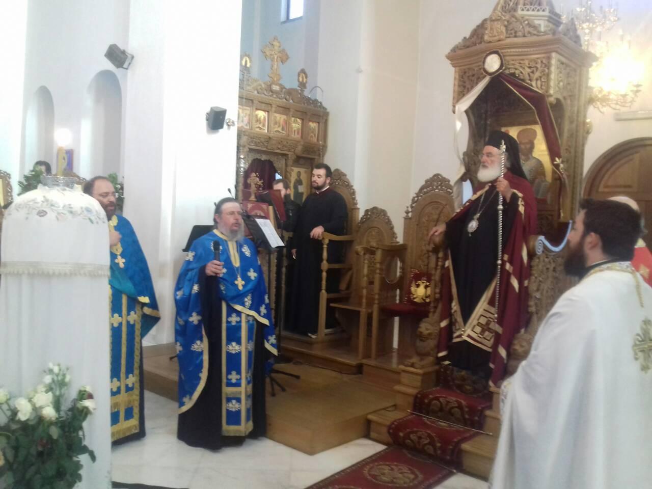 Αρκαλοχώρι: Μεθέορτος Εσπερινός του Αγίου Ανδρέα Αρχιεπισκόπου Κρήτης