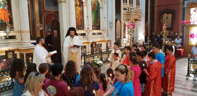 Τα παιδιά του Διανησιωτικού ΚΔΑΠ προσευχήθηκαν για τα θύματα της πυρκαγιάς στην Αττική