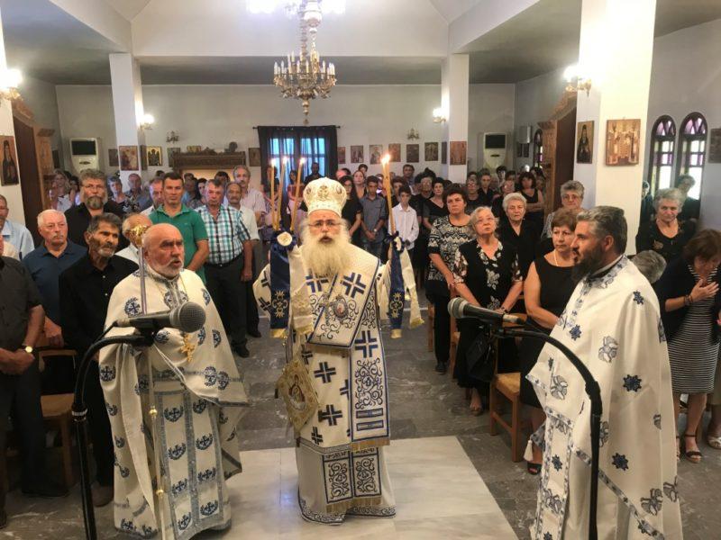 Αρχιερατική Θεία Λειτουργία στον Ιερό Ενοριακό Ναό Αγίου Γεωργίου Γούδουρα Σητείας