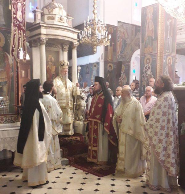 Λαμπρός εορτασμός του Αγίου Γερασίμου του εκ Καρύστου