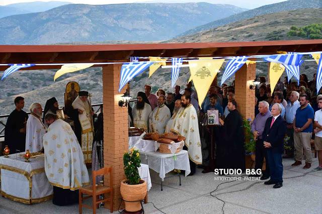 Αγία Μαρίνα: Λαμπρή Εορτή στο Κάστρο του Άργους