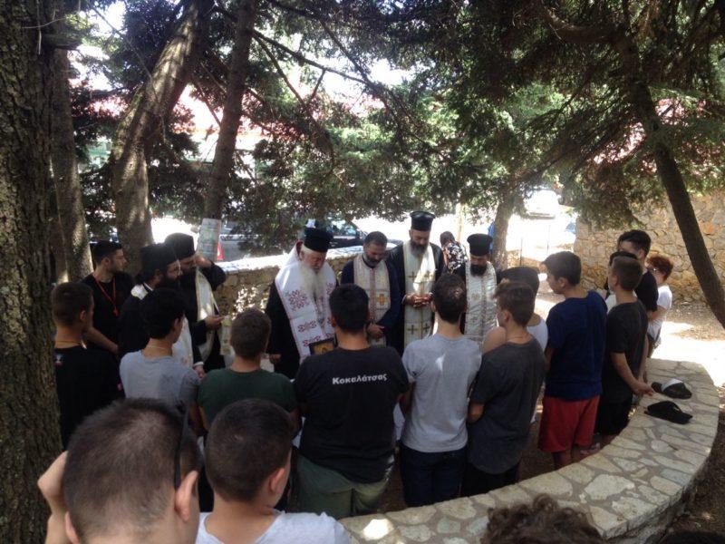 Μητρόπολη Θηβών: Έναρξη Γ΄ Κατασκηνωτικής περιόδου
