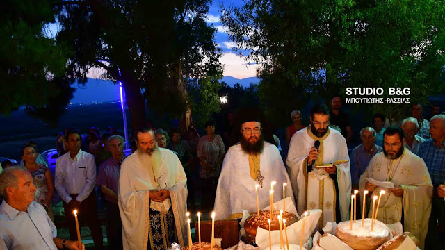 Προφήτης Ηλίας: Ο Εσπερινός στον Ίναχο Αργολίδος